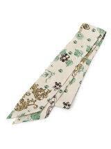 フラワー柄スカーフ