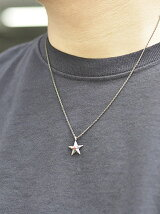 rehacer:Natural Stone Star Necklace