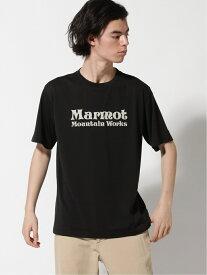 【SALE/30%OFF】Marmot (M)MMW LOGO H/S CREW マーモット カットソー Tシャツ ブラック ホワイト ネイビー ピンク
