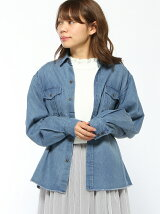 emsexcite/デニムデザインシャツ