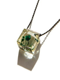rehacer Cube Flower Necklace レアセル アクセサリー【送料無料】