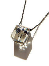 Cube Flower Necklace