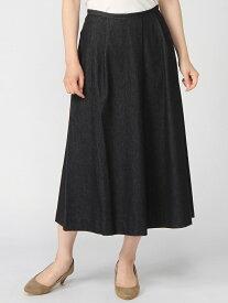 【SALE/50%OFF】MJ/(W)Long Skirt Knit Denim/33171029 ディヴィニーク スカート【RBA_S】【RBA_E】【送料無料】