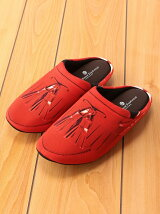 THE HOUSE FOOTWEAR/TASSEL LOAFERS-RED-M