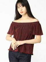 (W)GINGER OFF-THE-SHOULDER TOP