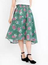 サマーフラワースカート