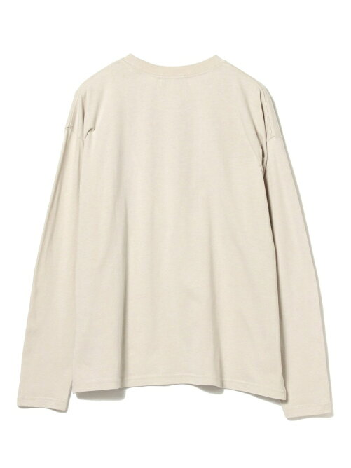 B:MING by BEAMS / ロゴプリント ロングスリーブ Tシャツ 20AW