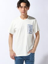 SS TEE STRIPED POKET