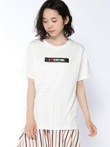 【BROWNY】(L)PUロゴプリントT