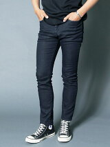 NO.60 SUPER SKINNY WASHED KNIT INDIGO DENIM