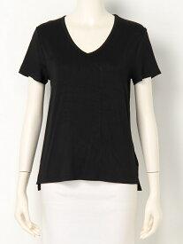 【SALE/30%OFF】EGOIST リラックスVネックTOP エゴイスト カットソー Tシャツ ブラック レッド ホワイト
