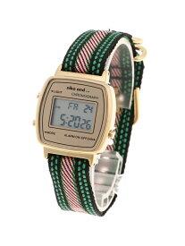 niko and... (W)ラインベルトデジタルWTC ニコアンド ファッショングッズ 腕時計 イエロー グレー ブラック