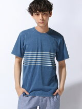 (M)GRAND GLOBAL INDIGO BORDER T
