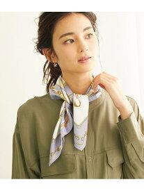 【SALE/10%OFF】ROPE' PICNIC PASSAGE ベルトステッキプリントスカーフ ロペピクニック ファッショングッズ スカーフ/バンダナ ブルー グレー ネイビー