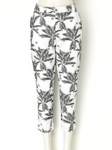LILY JACQUARD Cropped Pants