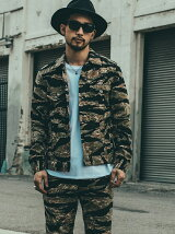 BORN FREE TIGER CAMO JACKET