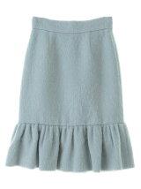 シャギーマーメイドスカート