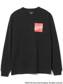 BEAMS MEN Coca Cola by BEAMS / Have a Coke ロングスリーブ Tシャツ ビームス メン カットソー Tシャツ ブラック レッド ホワイト【送料無料】