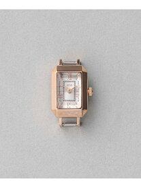ete きせかえウォッチスクエアフェイスラディアントカット エテ ファッショングッズ 腕時計 ゴールド イエロー【送料無料】