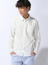(M)パナマ長袖シャツ