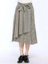 【10/17 ヒルナンデスご紹介商品】S・サッシュ付グレンチェックタイト/SK