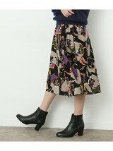 アートフラワーギャザースカート