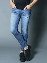 NO.62 LOWRISE SUPER SKINNY TAPERED SHAVING DENIM