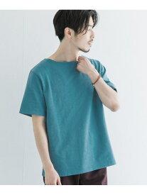 URBAN RESEARCH バスクTシャツ アーバンリサーチ カットソー Tシャツ ブルー ホワイト ブラウン グリーン【送料無料】