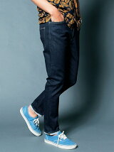 NO.35 SLIM WASHED INDIGO DENIM