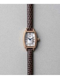 ete ウォッチコレクショントノーフェイスエンボスレザーベルト エテ ファッショングッズ 腕時計 レッド【送料無料】