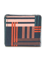 (L)LOGAN SMALL BIFOLD PLAID SL7826