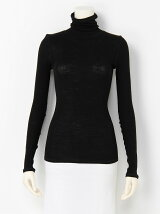 wool ribhight neck pullover