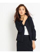 [L]ブライトツイードジャケット