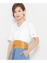 Champion 別注VネックTシャツ(半袖)