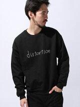 "【U】GD クルースウェット ""distortion"""
