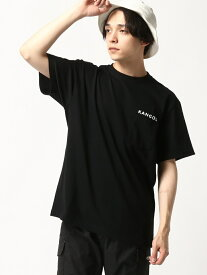 KANGOL KANGOL/(U)HYPE PKT TEE ターフ カットソー【送料無料】