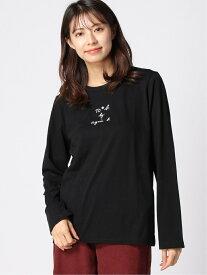 【SALE/21%OFF】agnes b. To b. by agnes b./(W)W984 Tシャツ アニエスベー カットソー Tシャツ ブラック ホワイト【送料無料】