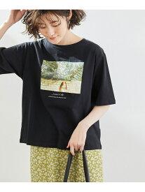 【SALE/15%OFF】ROPE' PICNIC 【ORGABITS】アソートTシャツ ロペピクニック カットソー カットソーその他 ブラック ホワイト ベージュ