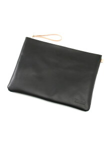 buddy / Fang leather clutch