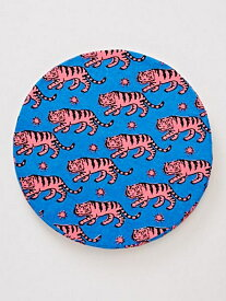 チャイハネ ズーズーラウンドクッション チャイハネ 生活雑貨 インテリアファブリック(クッション・テーブルクロス) ブルー パープル ピンク イエロー オレンジ グリーン