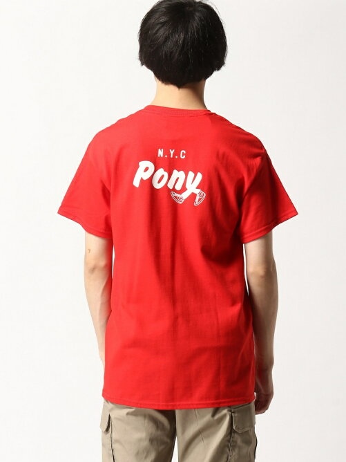 PONY/(U)WALKING PONY tee