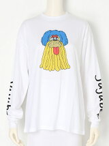 CARTOON PRINT L/S TEE