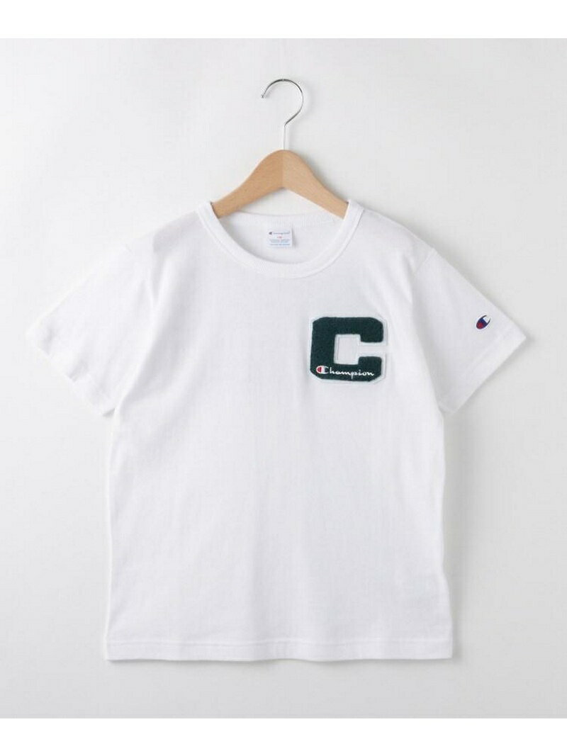 SHOO・LA・RUE/Kids 【Champion】【150~160cm】サガラ刺しゅうTシャツ シューラルー カットソー