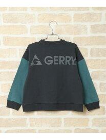 ikka 【キッズ】GERRY 袖切り替えトレーナー(120~160cm) イッカ カットソー キッズカットソー グレー