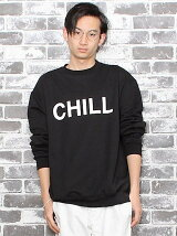 """【U】GD クルースウェット """"CHILL"""""""