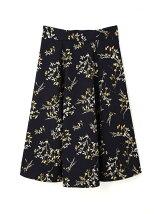 ◆大きいサイズ◆フラワープリントスカート