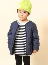 【coen キッズ / ジュニア】2WAYキルティングジャケット(100〜150cm)