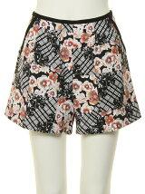 shibori flower short