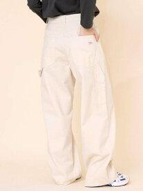 【SALE/50%OFF】coen SMITH'S別注ペインターパンツホワイト コーエン パンツ/ジーンズ フルレングス ホワイト