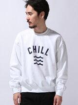 "【U】GD クルースウェット ""CHILL WAVE"""